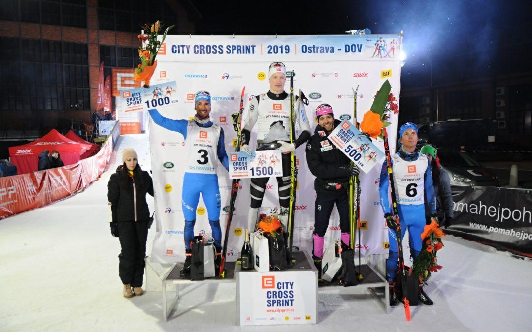 7. ročník ČEZ City Cross Sprintu vyhrál Paal Aune z Norska!