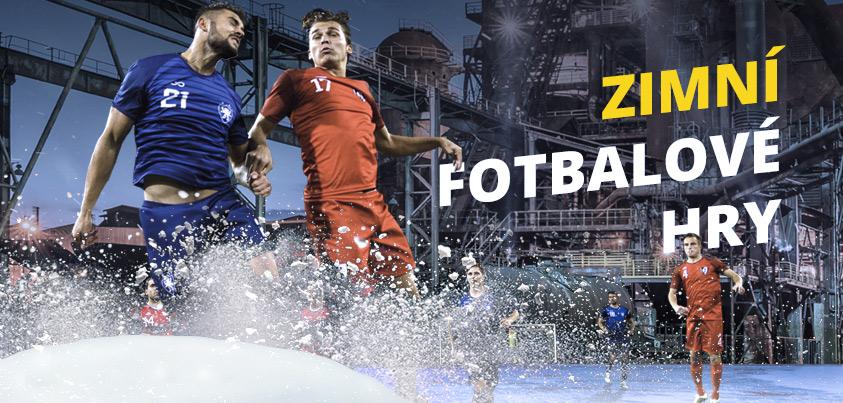 Zimní fotbalové hry!