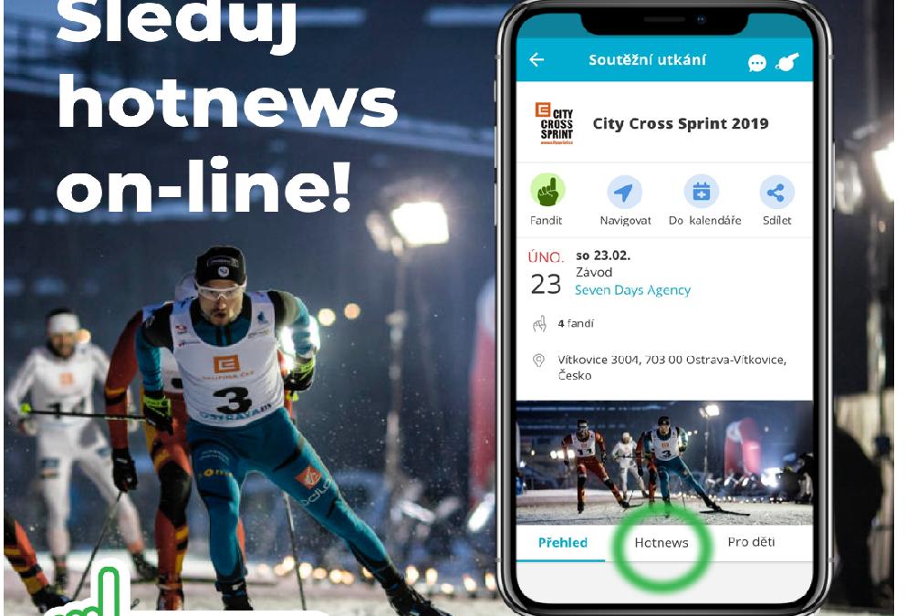 Hot News na City Cross Sprint 2019